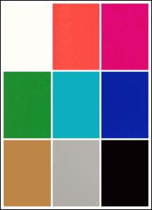 paleta de colores primavera 2012