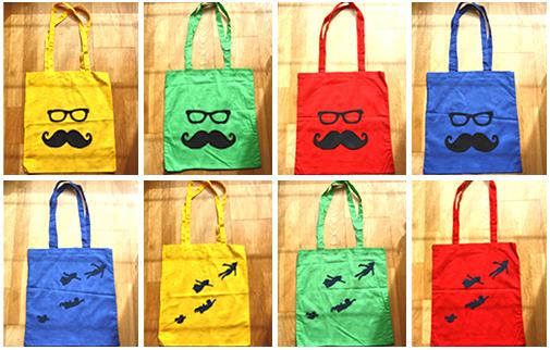 Colección de bolsos de verano Amapolaroid *