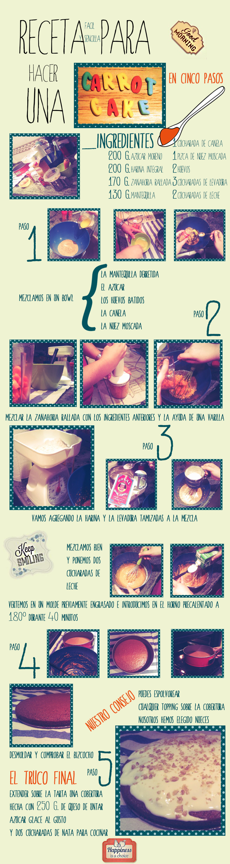 Receta para hacer una Carrot Cake