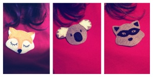 Broches animalitos